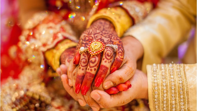 Gold investment for wedding