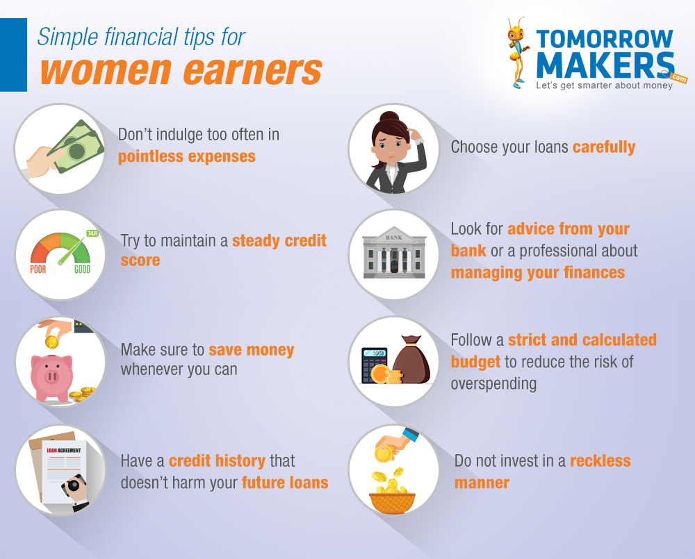 Financial tips that will help young women earners plan their finances