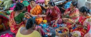 What is the Mahila e-Haat initiative?