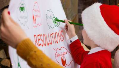 6 Tips to help your children set and keep their New Year's resolutions