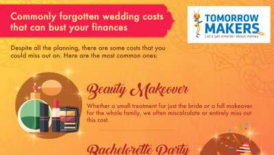 Commonly forgotten wedding costs that can bust your finances