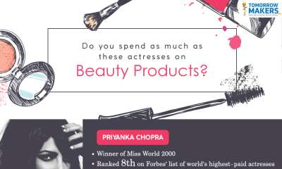 actresses spend this much on beauty products